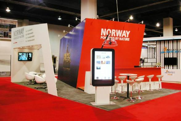 Avinor Norway 20x30 booth design