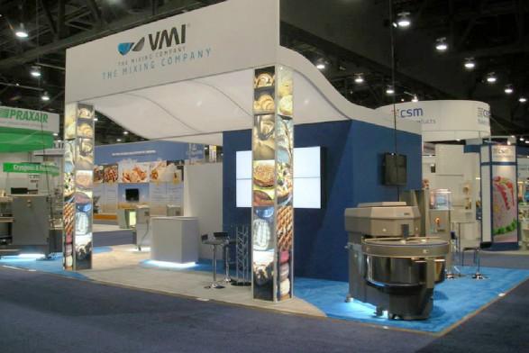 VMI 20x40 booth design