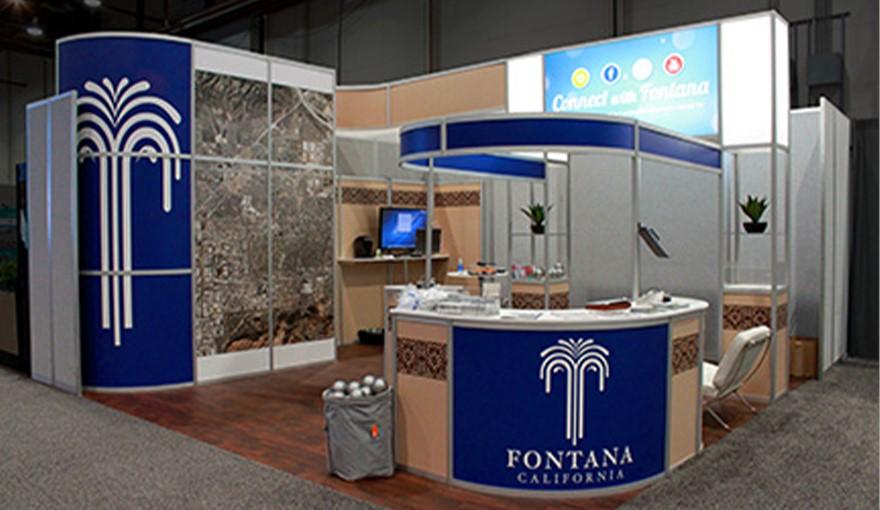 Aluminum trade show displays
